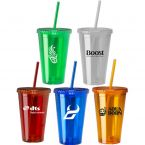 16 oz Insulated Acrylic Tumbler